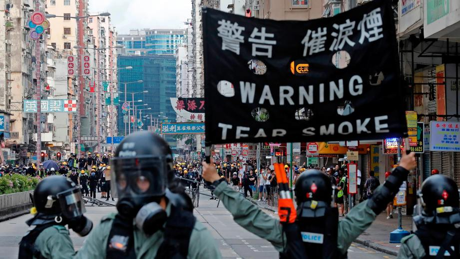 Hong Kong Could Enter Recession After Protests Plummet Retail and Scare Tourists