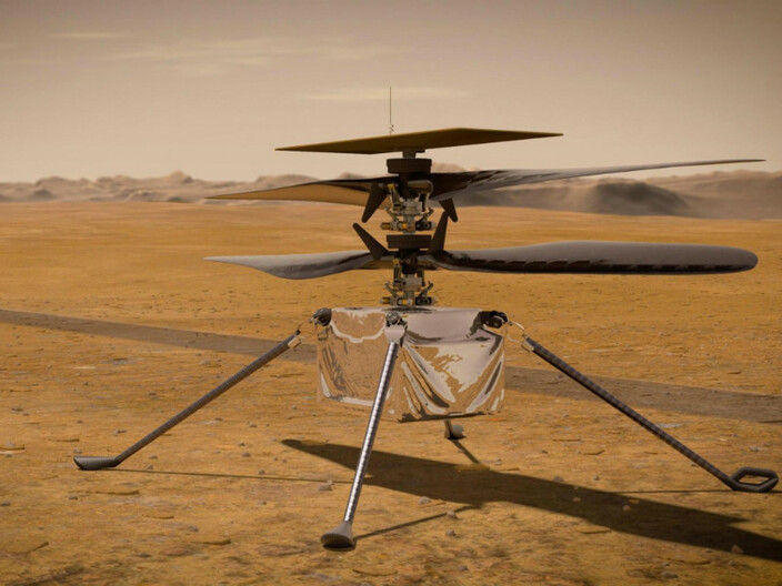 NASA Flies a Helicopter on Mars for the First Time Ever