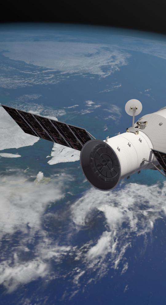 Out-Of-Control Chinese Space Station Crashes to Earth