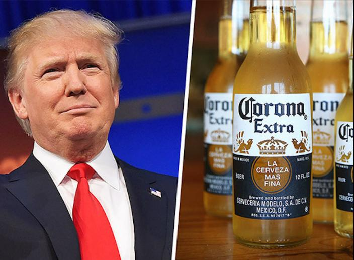 Corona Soars As Fears Of Trade Protectionism In The US Fade