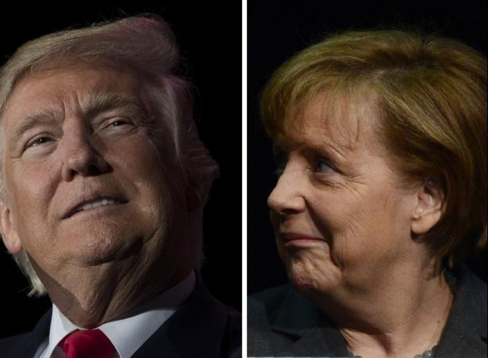 Did Trump Give Merkel An Invoice Worth More Than $300B?