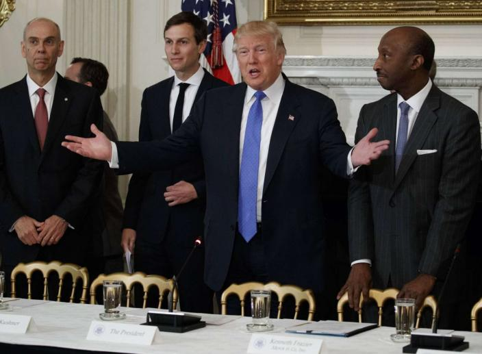 Trump Abolishes His Business Councils After CEOs Turn Against Him