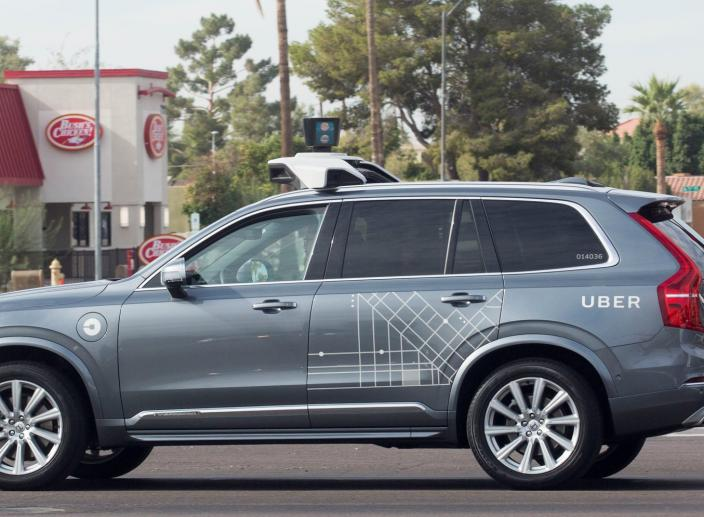 Self-Driving Uber Car Hit and Killed Arizona Woman Crossing Street