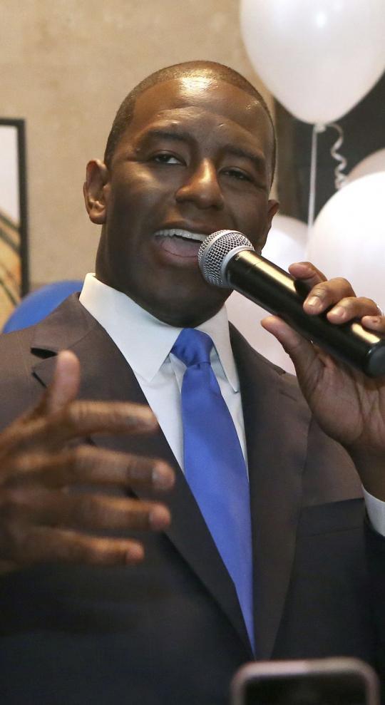 Black Progressive and Trump Acolyte Win Governor Primaries in Florida