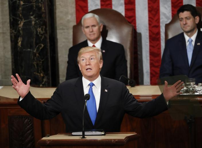 Trump Causes an Immigration Firestorm Ahead of the Annual State of the Union Address