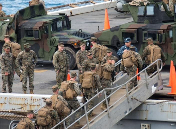 Trump Stations 1,000 Marines off Florida Coast