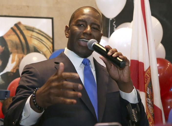 Black Progressive and Trump Acolyte Win Governor Primaries in Florida