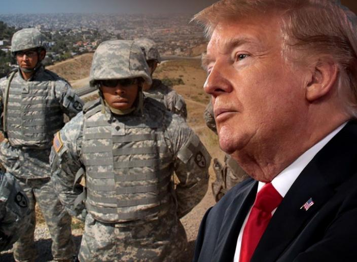 US Troops Authorized to Use Lethal Force at the Border According to Trump