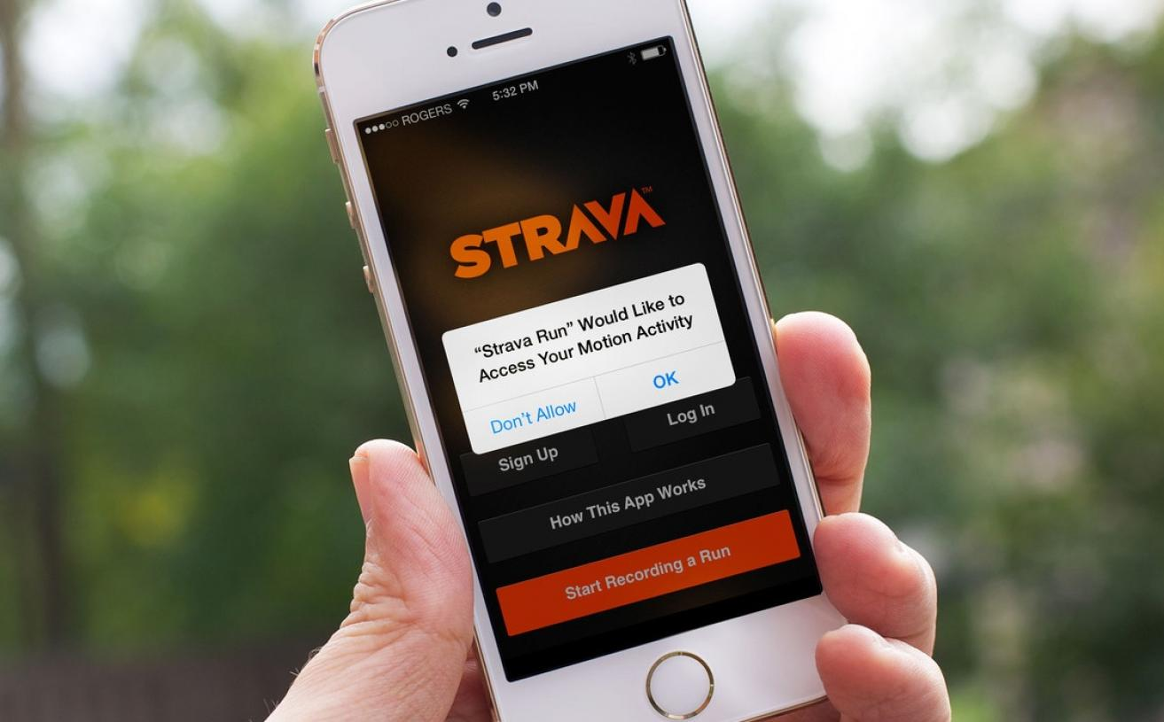 Fitness App Strava Gives Away the Location of Military Bases