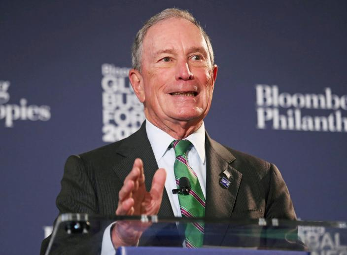 Michael Bloomberg Registers as a Democrat and May Run for President