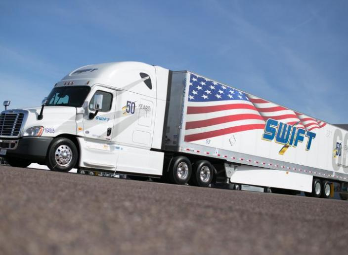 Knight and Swift Transportation Merging Together