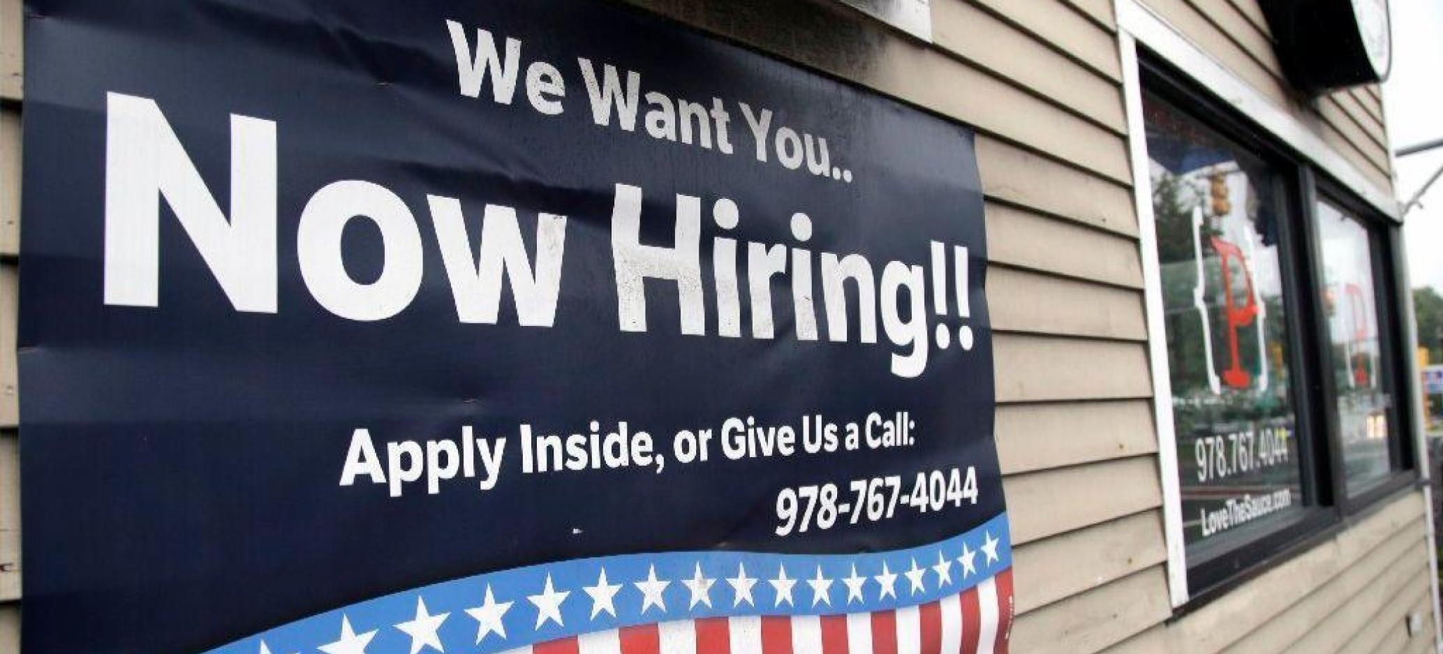 155,000 Jobs Were Created in the US in November