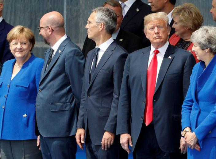 Trump Asks NATO Allies to Increase Military Spending