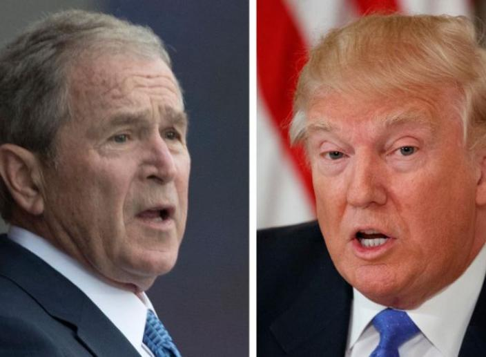 Bush's Take on Trump's Presidency