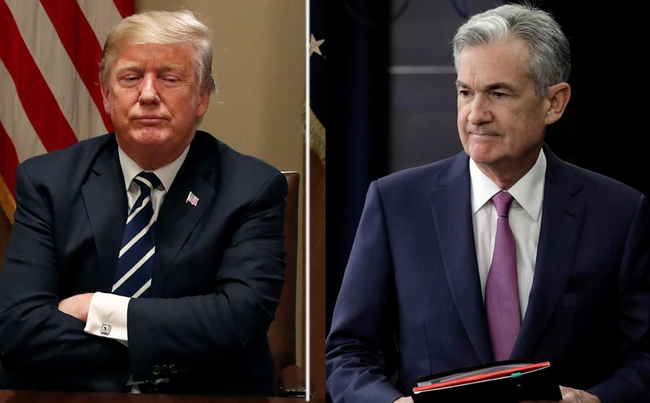Trump Criticizes Federal Reserve Over Interest Rate Hikes