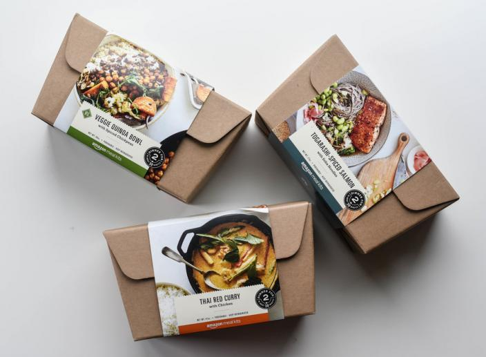 Amazon's New Prepared Meal Kits Will Be Available Soon