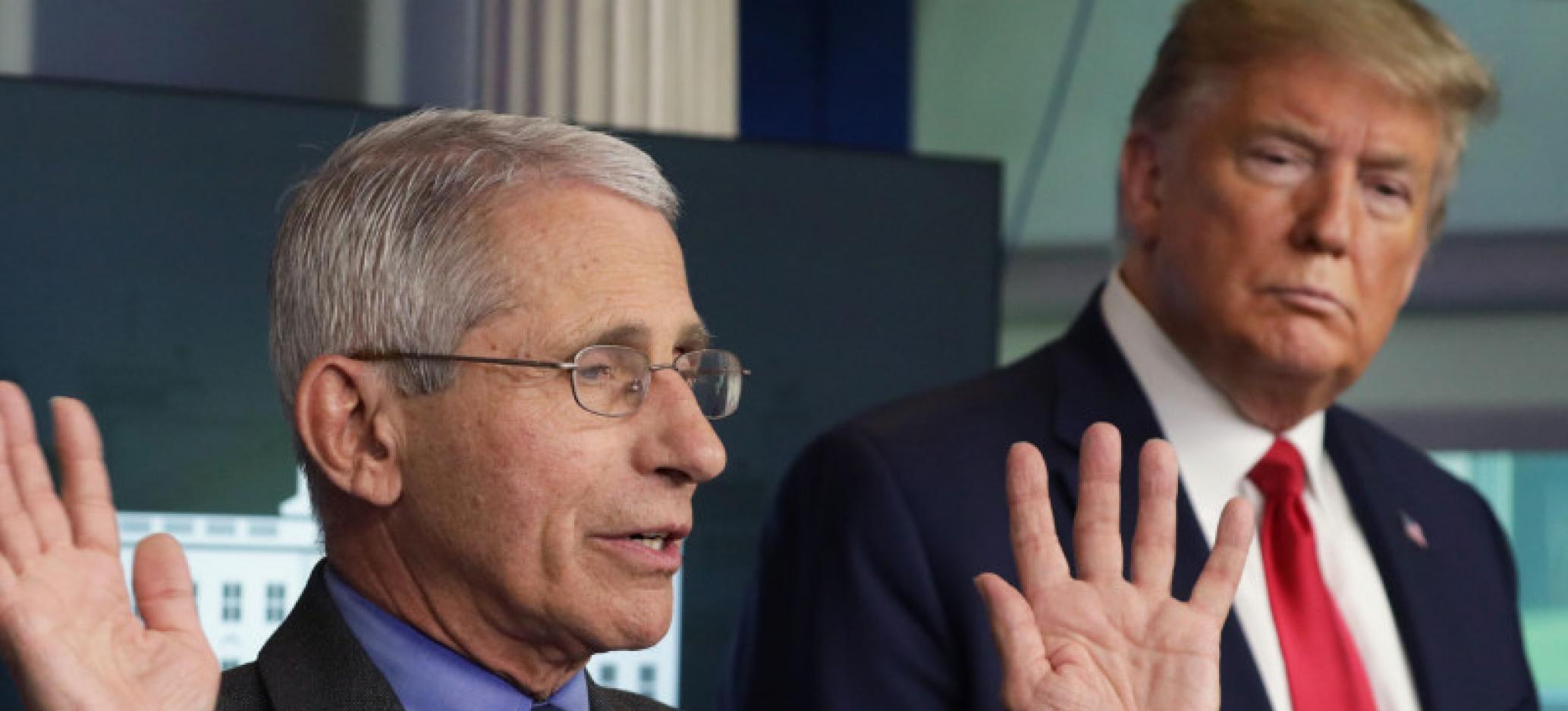 Trump Thinks Dr. Fauci is 'A Little Bit of an Alarmist'