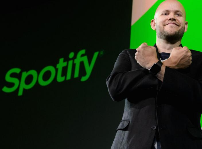 Spotify Makes Its Trading Debut with a $26.5 Billion Valuation