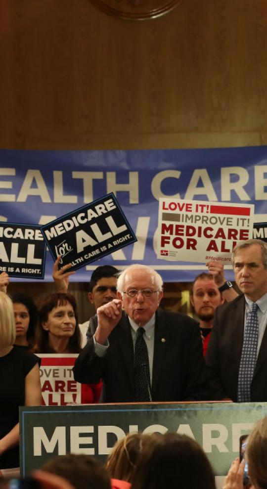 Bernie Sanders to Promise Medicare for All in 2020