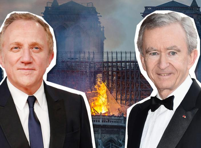 Two French Billionaires Donate $340 Million to Help Rebuild Notre-Dame