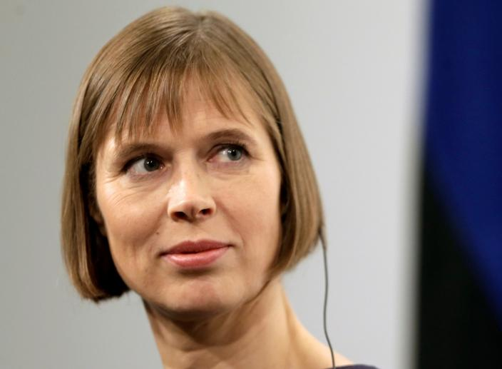 Estonian President Backs Trump, Eyeing Close Ties with the US