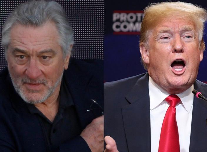 Robert De Niro Says Trump is Not Welcome in His Restaurants