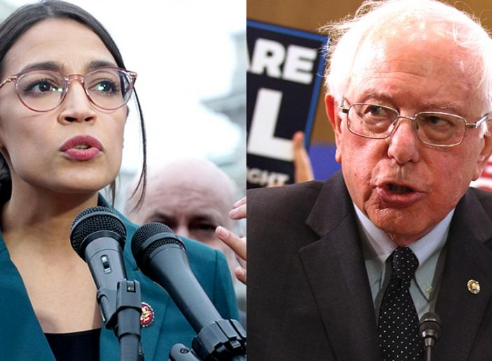 Bernie Sanders and Alexandria Ocasio-Cortez to Declare Climate Change a National Emergency