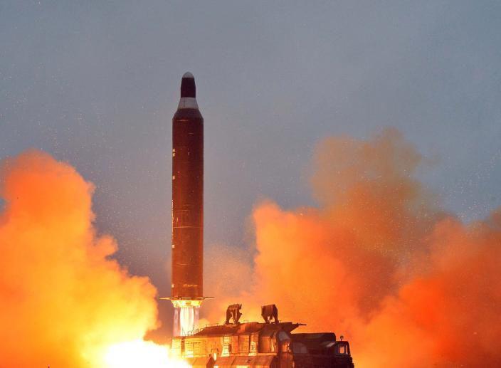 Trump Responds After North Korea Fired a Missile Over Japan