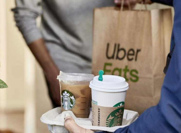 Starbucks Partners with Uber Eats to Deliver Coffee in 6 US Cities