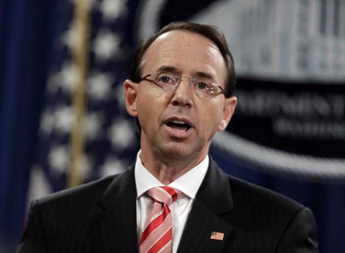 Rosenstein Wants to Leave the Justice Department