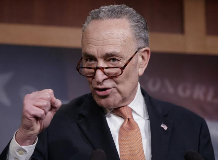 Chuck Schumer Withdraws Offer for Trump's Border Wall