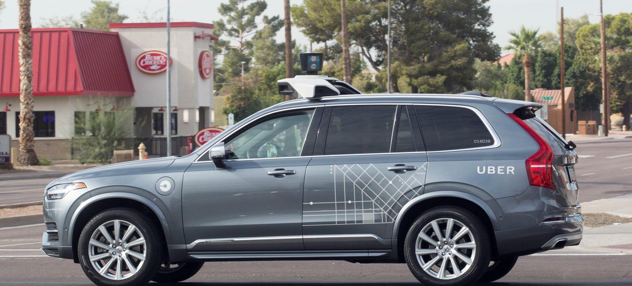 Self-Driving Uber Car Hit and Killed Arizona Woman Crossing Street