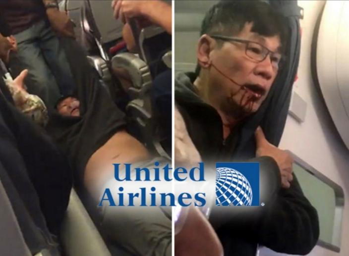 The CEO of United Airlines Apologized