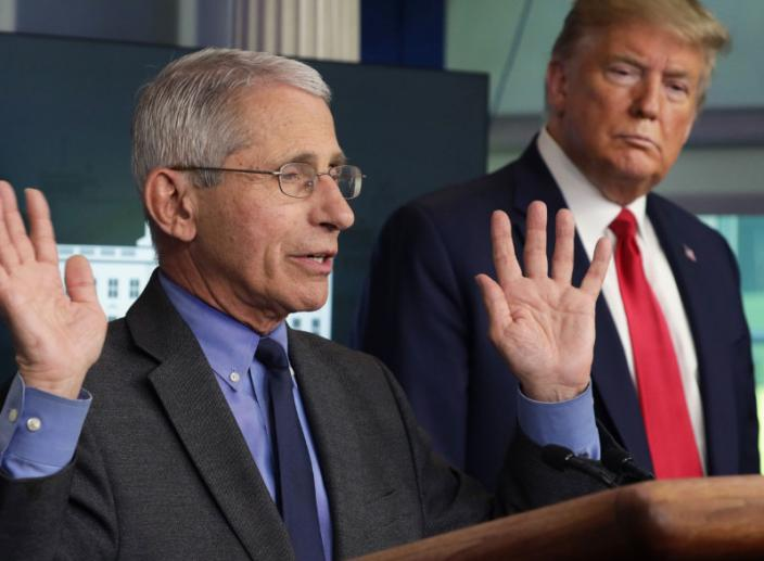 Trump Thinks Dr. Fauci is 'A Little Bit of an Alarmist'