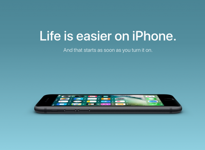 Apple's New Site Targeting Android Users