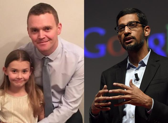 7-Year-Old Girl Sends Job Application to Google and the CEO Replies