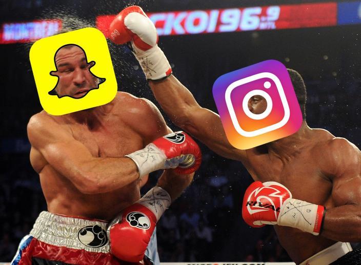 The Snapchat Vs. Instagram Stories Drama