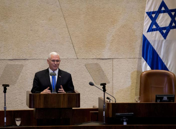 Vice President Mike Pence Says U.S. Embassy Will Move to Jerusalem by the End of 2019